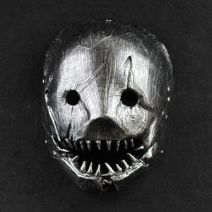 Resin Mask Halloween Party The Trapper Face Mask Dead by Daylight Mask 0.37kg 26cm*19cm*13(cm)