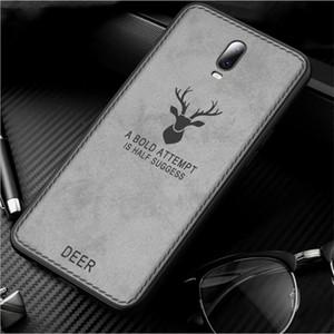 iphone 11 pro max için Bezi Geyik Case Arka için Samsung S9 iphone XR XS MAX 8 artı lüks tasarımcı telefon kılıfları