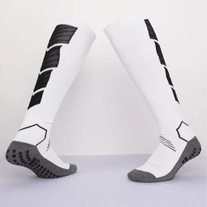 2019 نادي فريق كرة القدم الجوارب المضادة للانزلاق الجوارب الرجال الجوارب الرياضية تشغيل طويلة منشفة سميكة أسفل فوتبول calcetines الجوارب