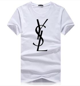 남성 T 셔츠 2019 봄 여름 새로운 브랜드 디자이너 반팔 패션 인쇄 눈 캐주얼 아웃 도어 의류 9 개 색상 T8 탑