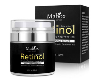 In Stock! MABOX Retinol 2.5% Moisturizer Face Cream and Eye Vitamin E Best Night and Day Moisturizing Creams free shipping.