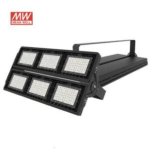 Highbay lâmpada de corte 900 W MeanWell AC100-277V 7 anos de garantia 150LM / W 5050SMD inundação Industrial iluminação exterior LED Stadium luz impermeável