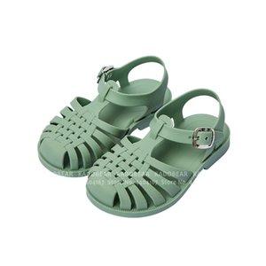Kız Çocuk Karnavalı Parti Prenses Roman için Yaz Çocuk Barefoot Sandalet Kaymaz Yumuşak Baby Boy Açık Terlik Slaytlar CX200629 Ayakkabı