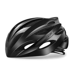 Casque de vélo léger unisexe respirant route Racing toutes saisons sport 18cm / 7inch, casques de vélo