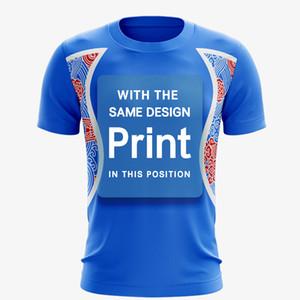 Toptan kaliteli ücretsiz tasarım özel logo baskılı tişörtleri logolu