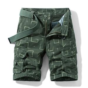 Mens 2020 Designer de Luxo Calças curtas Casual Hetero Moda comprimento do joelho calças cargo Shorts Vestuário Masculino