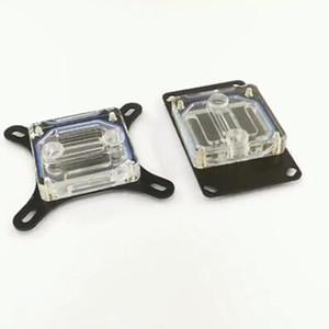 L'eau de refroidissement CPU générale Bloc 115X 2011 CPU AMD Cooler Tous Cuivre acrylique Eau de refroidissement Tête