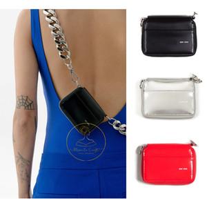 Новый черный BIKE КОШЕЛЬКА Mini Chain Кошелек INS Мода Толстые цепи Мини Комод Плечо сумка сумка Crossbody