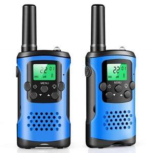 2PCS Dois Way Walkie Talkies Rádio Interphone Brinquedos para Crianças de passeio Crianças Outdoor Camping crianças Pretend Play Interação presentes