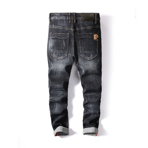 AIRGRACIAS Men Jeans 2019 New Style Men Jeans Brand Clothing High Quality Famous Designer Denim Biker Homme