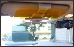 سيارة جديدة يوم مظلة وليلة الشمس قناع مضاد للانبهار نظارات كليب على القيادة درع سيارة لرؤية واضحة قناع