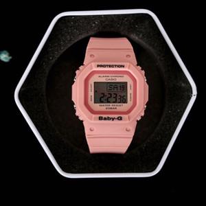 casio watch Casio G-Shock HOT Marca Casal relógio da qualidade presente top bebê todas as funções resistente à água relógio G Sports com a caixa para o amante