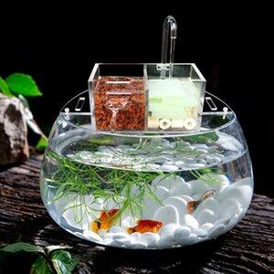 Mutifunctional Aquarium Fish Tank External Filter Box without Water Pump Increase Oxygen