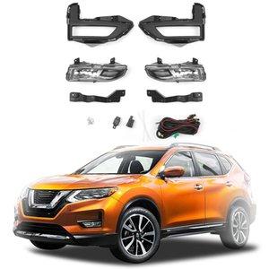 Areyourshop Araç Tampon Sürüş Spot Işık Sis Lambası Seti İçin Nissan Rogue X-Trail 2017 2018 12V Araba Şekillendirme Aydınlatma Lambası