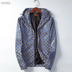 2019 Männer und Frauen Designer-Jacken Herren Designer Trenchcoat Lässige Zip Fashion Windjacke M-3XL