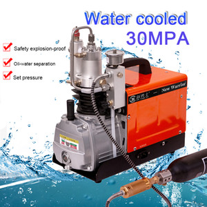 New Warrior Mini compressor 4500PSIHigh-Pressure Air Compressor Pump 300bar Air Rifle PCP 30MPA Air Compressor, Auto-Stop