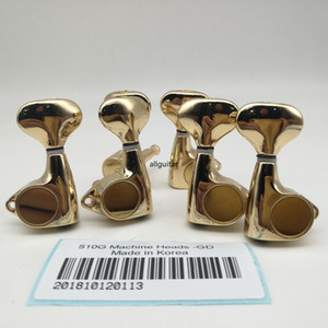 Gold Set 3L+3R 510G Guitar Machine Heads Tuners Guitar Tuning Pegs Made in Korea