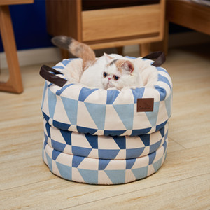 Cartoon Pet Cat Kitty Bed House Hot Puppy Mini Pet Dog Bed Mat Dog Dog Kennel