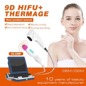 9D Hifu Машина для лица Лифт Лифт 31000 Снимки Устройство для похудения Комбинация с Thermage Tech подходит для мужчин и женщин