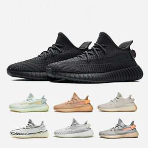 Sıcak Üçlü Siyah Yansıtıcı Statik Runnig Ayakkabı Erkekler Kadınlar GID Glow Kil TRFRM Zebra Spor Sneakers Beyaz Beluga 2.0 Susam Tasarımcısı Eğitmenler