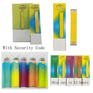 Hyppe Bar dispositif à usage unique Kit de démarrage avec code de sécurité 280mAh Batterie Stylos Cigarettes 1,3 ml Vaporizer vide E
