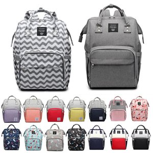 Waterpoof Fashion Mummy Maternity Diaper Bag Large Nursing Bag Travel Backpack Designer Stroller Baby Care Nappy Backpack