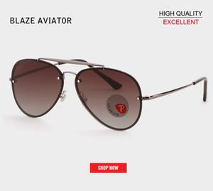 Luxe Cat Eye aviation lunettes de soleil Femmes Marque Designer miroir polarisé Lunettes de Soleil Femmes Couple Lunettes De Soleil Vintage réfléchissant 3584N gafas