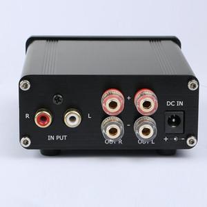 Freeshipping Novo K.Guss GU50 HiFi 2.0 Classe D TPA3116 Mini Amplificador de Energia de Áudio Borne Amplificador 2 * 50 W DC12V para DC24V