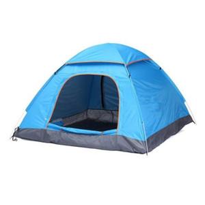 Yaz Çadır 2 Kişi Turist Tek Katmanlı Rüzgar Geçirmez Su Geçirmez Çanta ile Kamp Çadır Tienda De Acampar Çadır Carpas CTS002