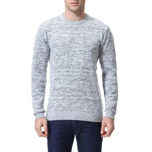 Men's Wool Pullover Autumn Winter Wear Thick O-neck Long Sleeve Perfect Quality Slim Fit Clothes Casual Cotton Knitted Sweaters