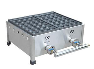 YENI Ticari Kullanım LPG Gaz Japon Ahtapot Balık Topu Takoyaki Makinesi Makinesi Endüstriyel gaz takoyaki makineleri