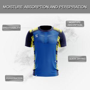 Design personalizado seus próprios homens bordados em torno do pescoço camiseta de algodão impressão por atacado 3d sublimação impresso t-shirt