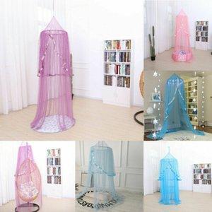 2020 Hanging Kinder Baby-Bettwäsche-Dome Bett-Überdachung Cotton Moskitonetz Bedcover Vorhang für Babys Lese Spielen Home Decor