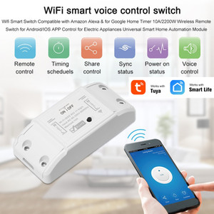WiFi sans fil commutateur sans fil Télécommande Light Timer Switch Smart Home Automation Module Android iOS support