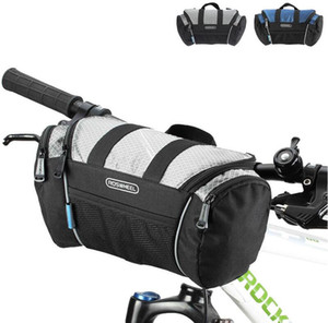 5L Fahrrad Lenkertasche Fahrrad Frontschlauch Taschen Schulter Pack Reiten Radfahren Liefert Rennrad Mountainbike Fronttasche Fahrrad Zubehör