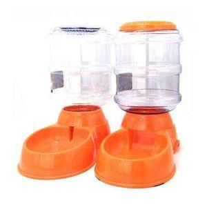 Gravity Pet Feeder 3.5l Cat Dog Kitten Dry Food Bowl Dispensador automático Feed Dog Drink Machine