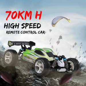 RC Car WLtoys A959 A959B 1/18 70 km / h alta velocidade carro de corrida 540 Brushed Motor 4WD Off-Road controle remoto carro elétrico RTR RC Toy