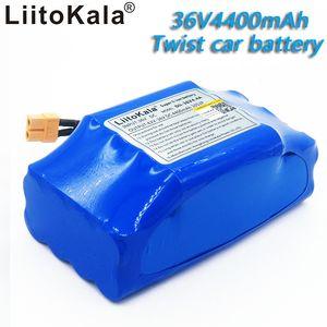 """36V 4.4AH 4400mah de alto consumo de 2 ruedas auto scooter eléctrico equilibrar paquete de baterías de litio para la auto-equilibrio Fits 6.5"""" 7"""""""