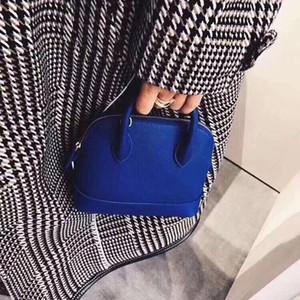 Borse a tracolla delle donne di modo classico Handbags di vendita caldo della signora piccola conchiglia con striscia Lady Messenger Bag Crossbody Ragazze borse della borsa calda