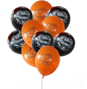 100 pcs 12 inch Halloween balloons kids toys Latex Helium Balloons Fashion Kids Gift Supplies Top Quality Air Balls New Fashion