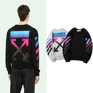 felpe divertenti nuove tonalità autunno / inverno attraversano hoodies degli uomini hip hop stile di abbigliamento di marca lana giacca vestito di sport incappucciati - all'ingrosso