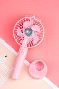 Taşınabilir Su Outdoor Klima Nemlendirici Soğutma Sis Fan Elektrikli USB Şarj edilebilir El Mini Sprey Fan