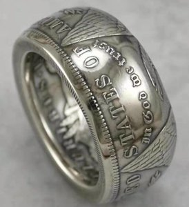 High Factory Morgan Shipping Free Cheap Dollars Ring Silver 90% Price Quality Hot Selling Psged