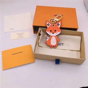 2020 New fashion key chain European and American men and women gifts souvenir car bag pendant belt packaging box