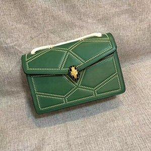 trendBrand nueva marca de calidad de cuero de lujo de la cartera diagonal bolsa de straddle diseñador senior de lujo de las mujeres del hombro del bolso
