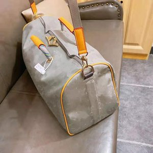 Viajes láser de mano del equipaje del bolso impermeable de tela de lana basta del bolso del totalizador Duffle Hombres Niños de Europa y América del estilo de las mujeres unisex de lujo de las mujeres bolsos