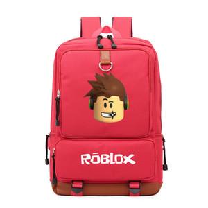 2019 Roblox juego mochila casual para adolescentes Niños Niños Niños Escuela Estudiante de hombro bolsas de viaje bolsa unisex Laptop Bags 3
