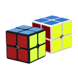 QIYI تشى دى 2X2X2 سحر السرعة مكعب BAG STICKERless لغز CUBE PROFESSIONAL 2X2 SPEED CUBE EDUCATIONAL FUN لعب للأطفال