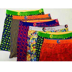 Más estilos especiales roca calle de la moda del monopatín deportes ropa interior de la ropa interior de la grapa hip hop caliente de los hombres de Ethika streched legging de secado rápido