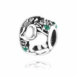 2020 Новая мода высокого качества Подвески стерлингового серебра 925 Animal Kingdom Charm Beads Fit Ожерелье Браслеты DIY Подарок для женщины Fine Jewelry